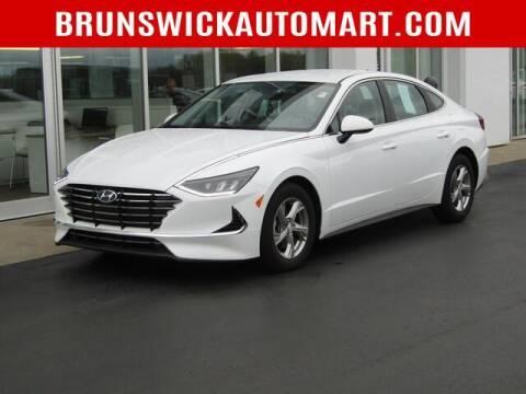 2020 Hyundai Sonata for sale at Brunswick Auto Mart in Brunswick OH