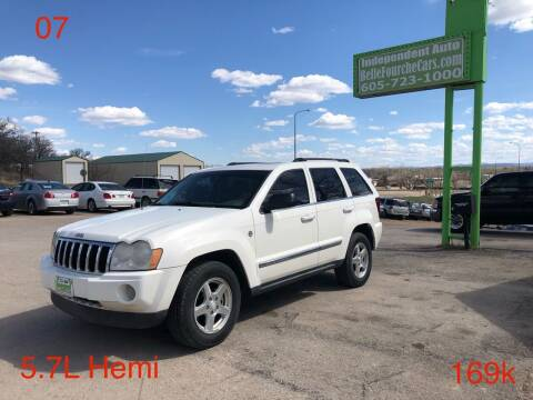 2007 Jeep Grand Cherokee for sale at Independent Auto in Belle Fourche SD