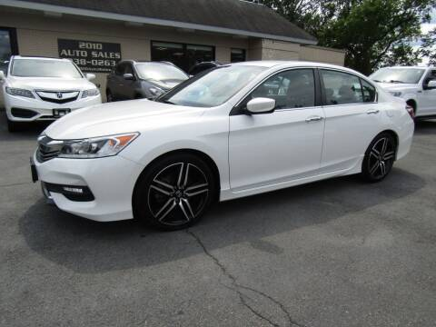2017 Honda Accord for sale at 2010 Auto Sales in Troy NY