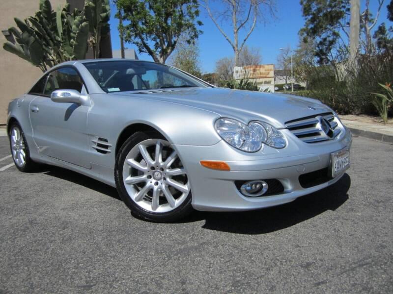 2008 Mercedes-Benz SL-Class for sale at ORANGE COUNTY AUTO WHOLESALE in Irvine CA