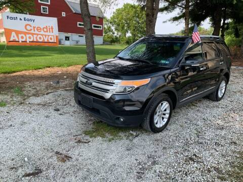 2014 Ford Explorer for sale at Caulfields Family Auto Sales in Bath PA