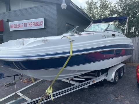 2003 Four Winns DECK BOAT for sale at Used Car Factory Sales & Service in Bradenton FL