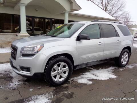 2015 GMC Acadia for sale at DEALS UNLIMITED INC in Portage MI