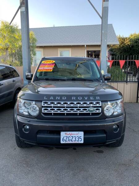 2013 Land Rover LR4 for sale at Victory Auto Sales in Stockton CA