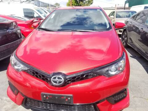 2016 Scion iM for sale at Ournextcar/Ramirez Auto Sales in Downey CA