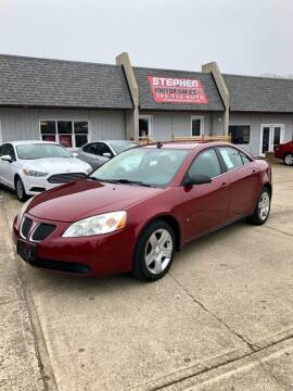 2009 Pontiac G6 for sale at Stephen Motor Sales LLC in Caldwell OH