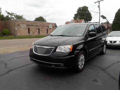 2014 Chrysler Town and Country for sale at Sarchione INC in Alliance OH