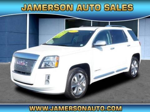2013 GMC Terrain for sale at Jamerson Auto Sales in Anderson IN