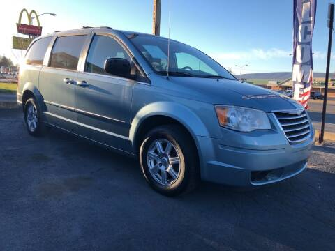 2010 Chrysler Town and Country for sale at Rine's Auto Sales in Mifflinburg PA