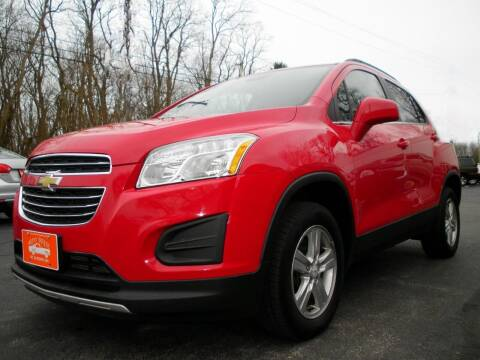 2016 Chevrolet Trax for sale at Auto Brite Auto Sales in Perry OH