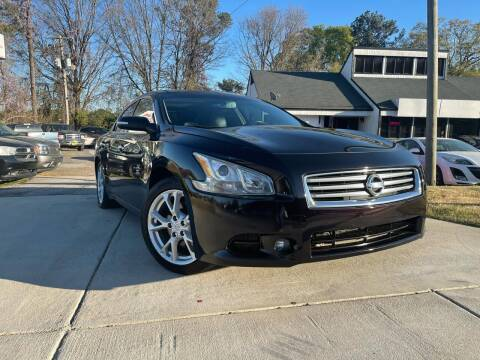2013 Nissan Maxima for sale at Alpha Car Land LLC in Snellville GA