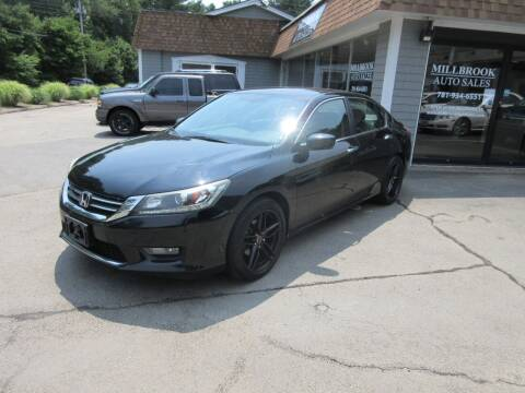2015 Honda Accord for sale at Millbrook Auto Sales in Duxbury MA