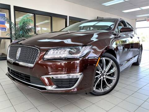 2019 Lincoln MKZ Hybrid for sale at SAINT CHARLES MOTORCARS in Saint Charles IL
