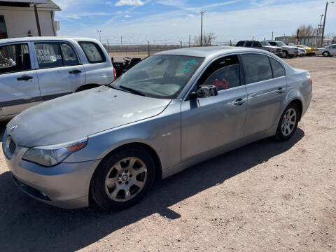2004 BMW 5 Series for sale at PYRAMID MOTORS - Fountain Lot in Fountain CO