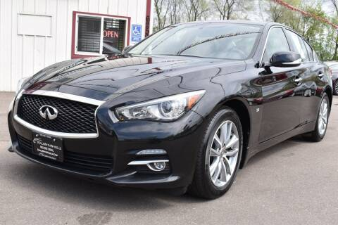 2015 Infiniti Q50 for sale at Dealswithwheels in Inver Grove Heights MN