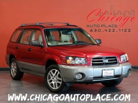 2005 Subaru Forester for sale at Chicago Auto Place in Bensenville IL