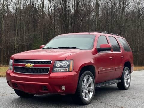2012 Chevrolet Tahoe for sale at Top Notch Luxury Motors in Decatur GA