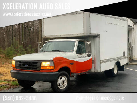 1996 Ford F-350 for sale at XCELERATION AUTO SALES in Chester VA