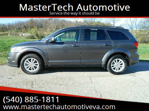 2015 Dodge Journey for sale at MasterTech Automotive in Staunton VA