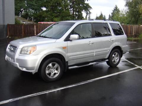 2007 Honda Pilot for sale at Western Auto Brokers in Lynnwood WA