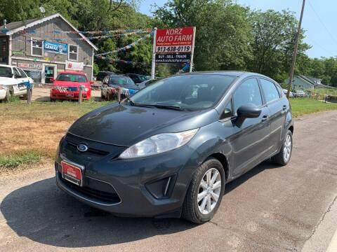 2011 Ford Fiesta for sale at Korz Auto Farm in Kansas City KS