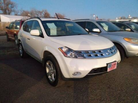 2004 Nissan Murano for sale at L & J Motors in Mandan ND