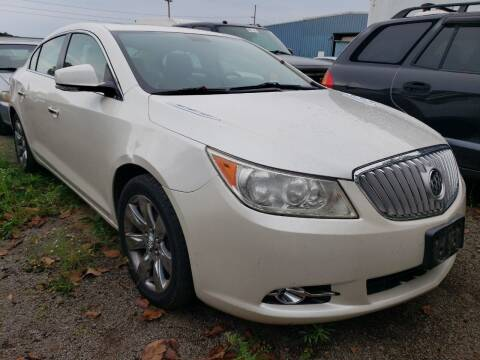 2011 Buick LaCrosse for sale at COLONIAL AUTO SALES in North Lima OH