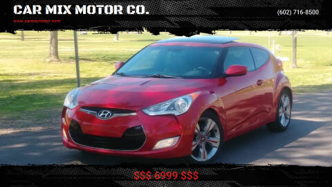 2013 Hyundai Veloster for sale at CAR MIX MOTOR CO. in Phoenix AZ