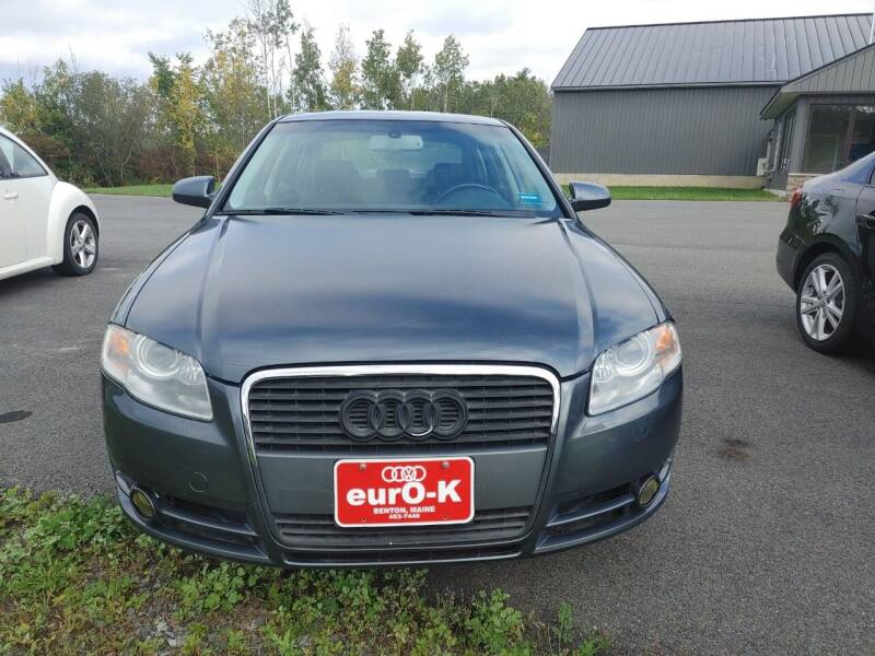 2007 Audi A4 for sale at eurO-K in Benton ME