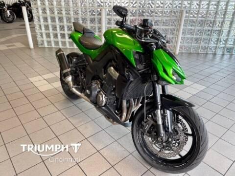 2015 Kawasaki Z1000 for sale at TRIUMPH CINCINNATI in Cincinnati OH