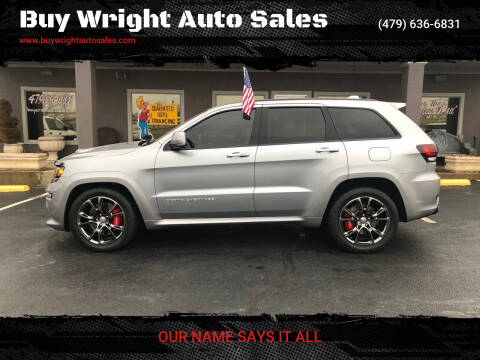 2016 Jeep Grand Cherokee for sale at Buy Wright Auto Sales in Rogers AR