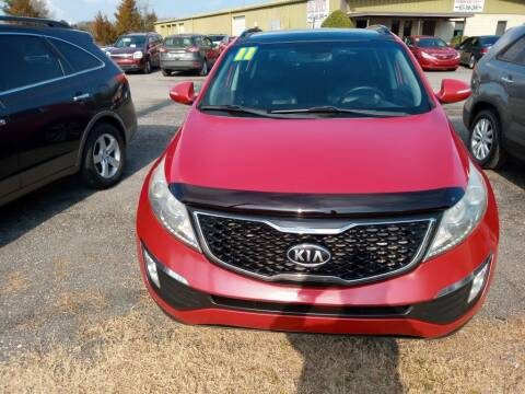 2011 Kia Sportage for sale at IDEAL IMPORTS WEST in Rock Hill SC