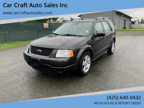 2007 Ford Freestyle for sale at Car Craft Auto Sales Inc in Lynnwood WA