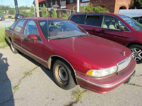 1993 Chevrolet Caprice for sale at King of Auto in Stone Mountain GA