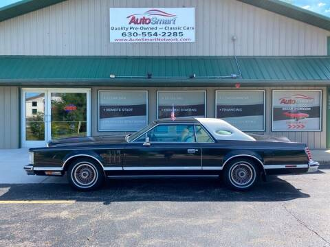 1979 Lincoln Mark V for sale at AutoSmart in Oswego IL