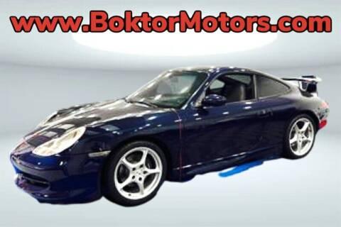 1999 Porsche 911 for sale at Boktor Motors in North Hollywood CA