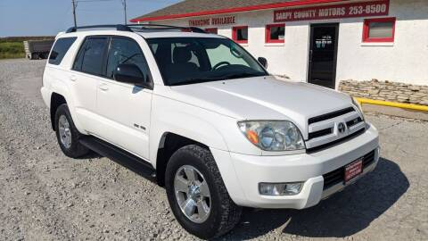 2004 Toyota 4Runner for sale at Sarpy County Motors in Springfield NE