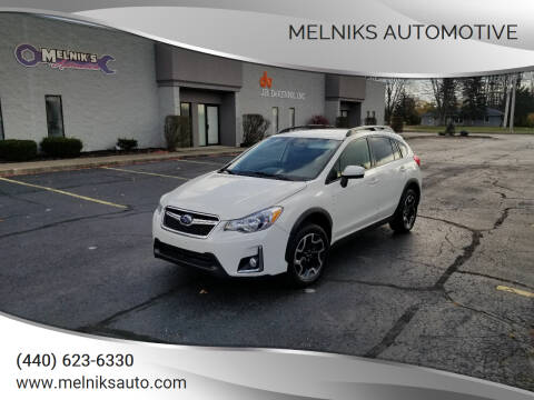 2017 Subaru Crosstrek for sale at Melniks Automotive in Berea OH