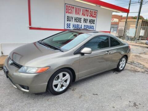 2006 Honda Civic for sale at Best Way Auto Sales II in Houston TX