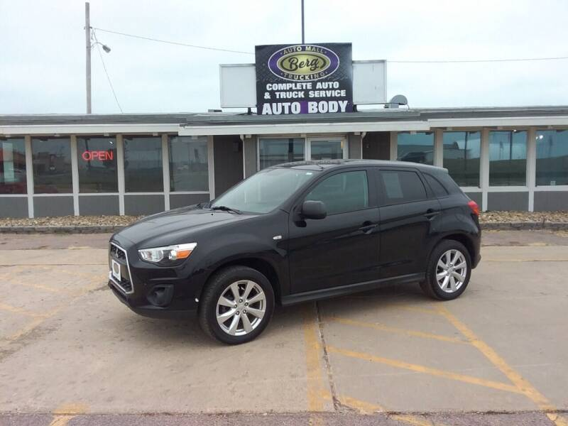 2015 Mitsubishi Outlander Sport for sale at BERG AUTO MALL & TRUCKING INC in Beresford SD