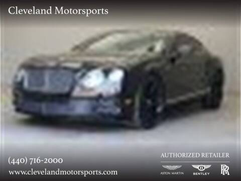 2015 Bentley Continental for sale at Drive Options in North Olmsted OH