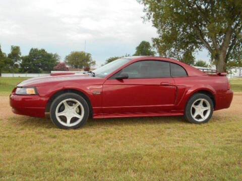 2003 Ford Mustang for sale at CAVENDER MOTORS in Van Alstyne TX