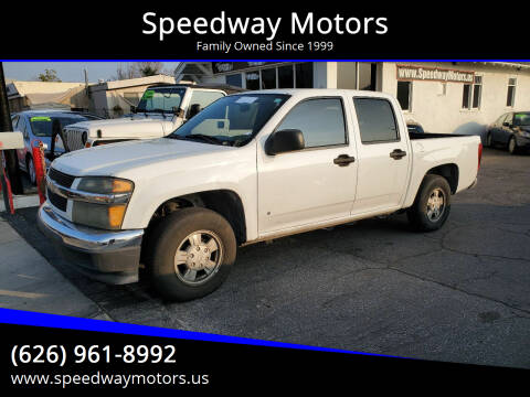 2006 Chevrolet Colorado for sale at Speedway Motors in Glendora CA