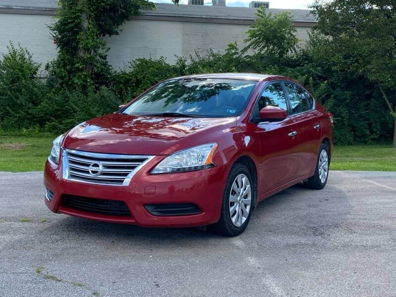 2014 Nissan Sentra for sale at Hadi Auto Sales in Lexington KY