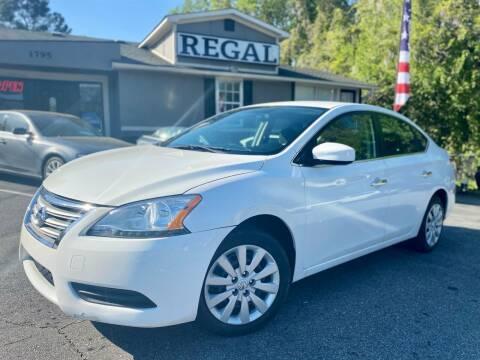 2014 Nissan Sentra for sale at Regal Auto Sales in Marietta GA
