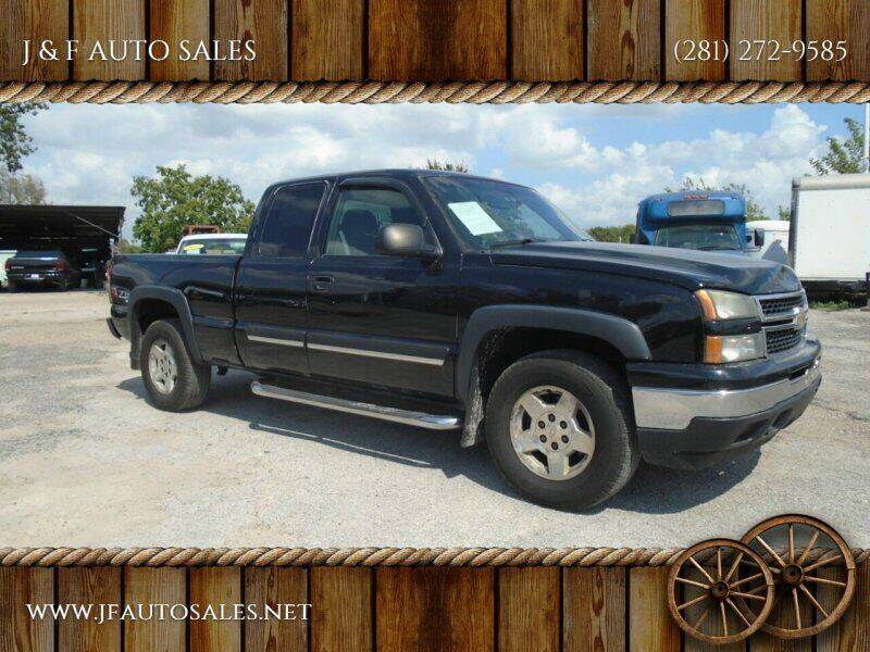 2006 Chevrolet Silverado 1500 for sale at J & F AUTO SALES in Houston TX