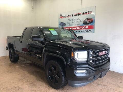 2016 GMC Sierra 1500 for sale at Antonio's Auto Sales in South Houston TX
