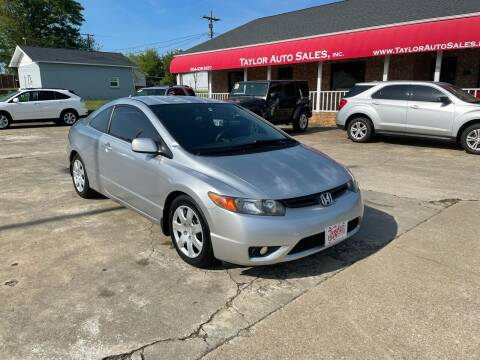 2007 Honda Civic for sale at Taylor Auto Sales Inc in Lyman SC