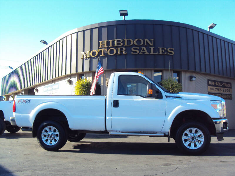 2015 Ford F-250 Super Duty for sale at Hibdon Motor Sales in Clinton Township MI