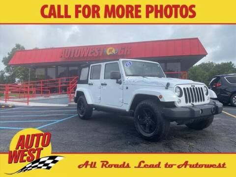 2015 Jeep Wrangler Unlimited for sale at Autowest of GR in Grand Rapids MI